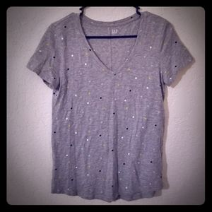 GAP polka dot tee shirt